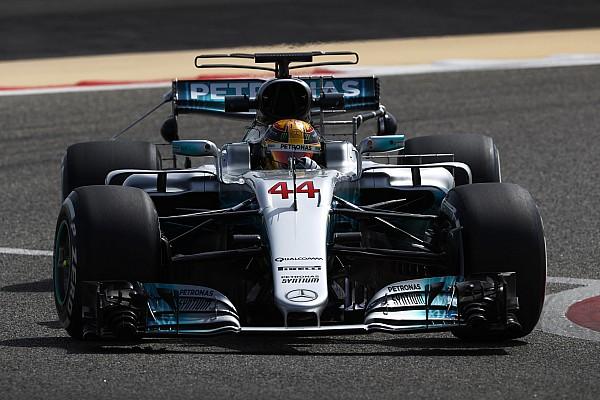 F1 季中测试首日:汉密尔顿最快,多位车手遇故障