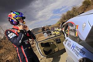 WRC Actualités Neuville, favori logique et
