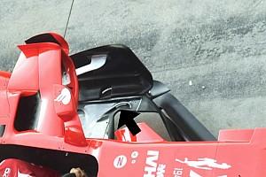 Ferrari: ecco il soffiaggio sul fondo che è rimasto nascosto sulla SF70H