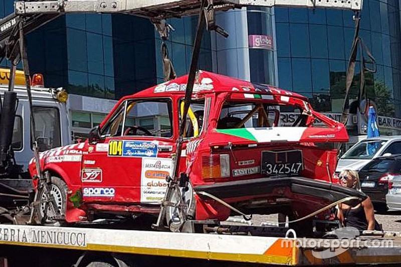 Tragedia al Rally Rose'n Bowl: muore Alessandro Pepe sulla A112 Abarth