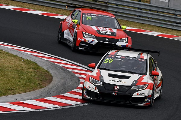 Norbert Michelisz on pole for his home races