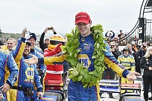 IndyCar Race report Watkins Glen IndyCar: Rossi wins, Newgarden shunts, Dixon closes