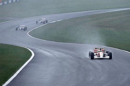 VIDEO: De dag dat Senna heerste op Donington Park