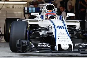 Williams, Kubica'nın hızı hakkında konuşmayacak