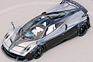Last Pagani Huayra Coupe to wear Lewis Hamilton's F1 car livery