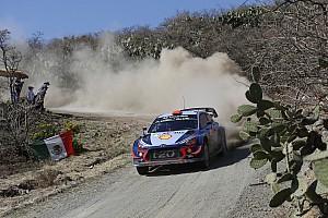 WRC Dagverslag WRC Mexico:  Sordo behoudt leiding, problemen Neuville