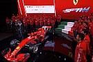 Видео: как новую Ferrari обклеивают логотипами спонсоров