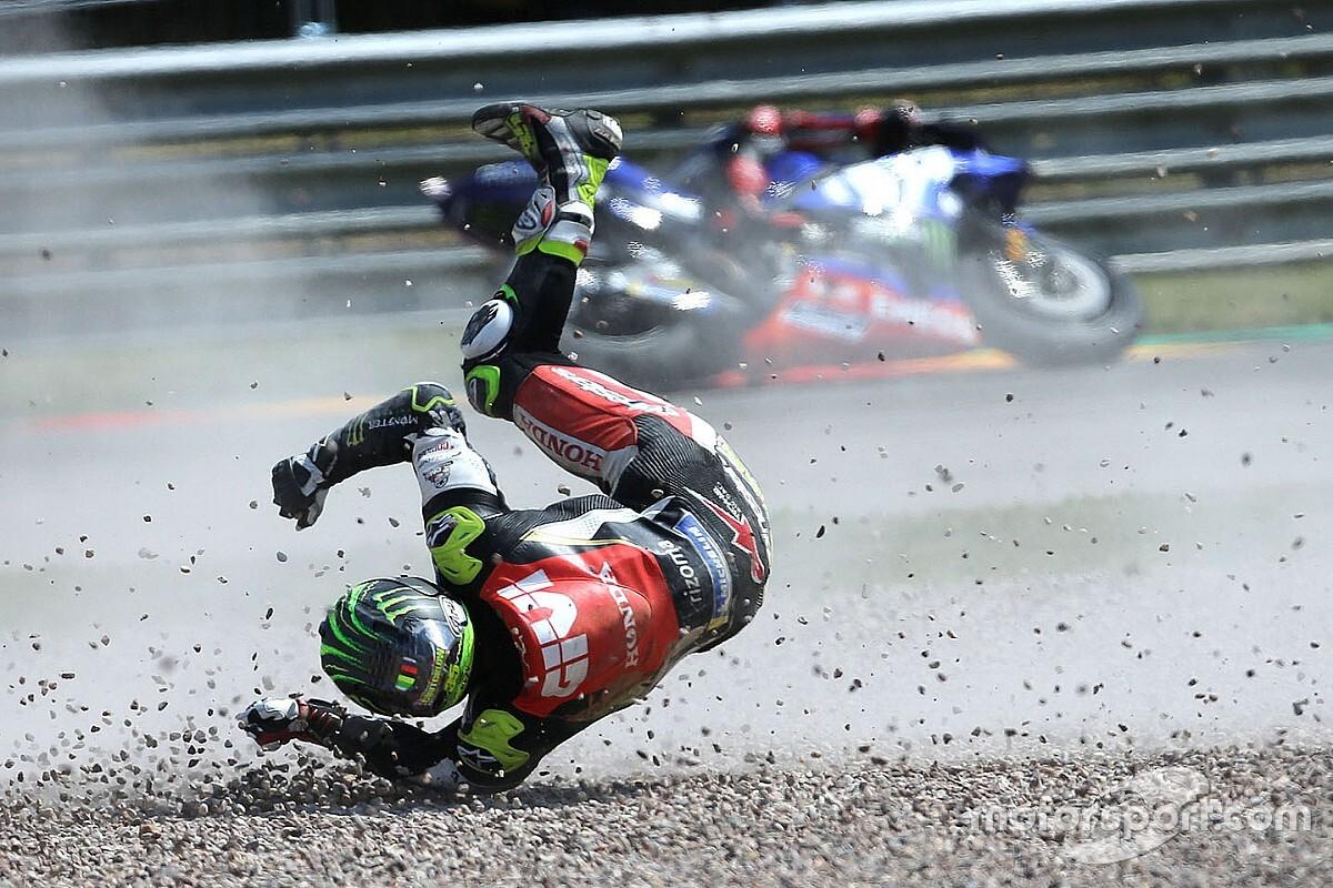 GALERI: Kompilasi foto kecelakaan MotoGP 2018