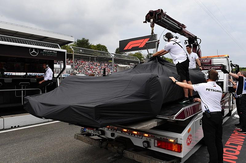 A Mercedes megerősítette Hamilton szavait, nem az ugratások okozták a bajt