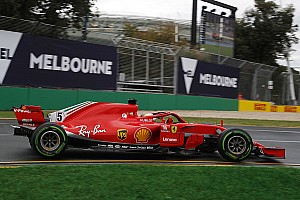 Две Ferrari и Эрикссон возглавили дождевую тренировку в Мельбурне
