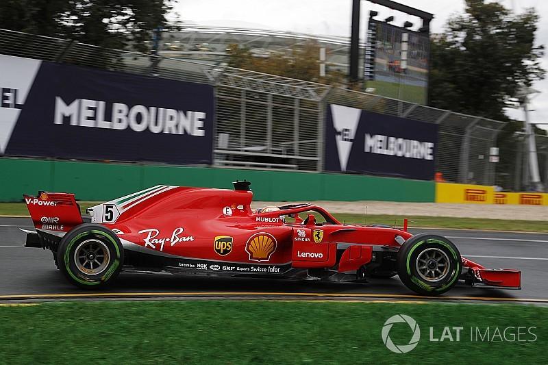 Formel 1 Melbourne 2018 Sebastian Vettel 24 Sekunden Vor Räikkönen