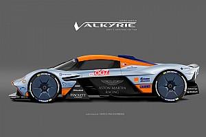 Формула 1 Самое интересное Гиперкар для Бонда. Aston Martin Valkyrie в разных ливреях