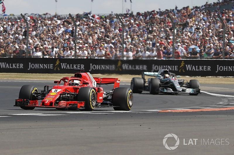 Vettel: Mercedes'in