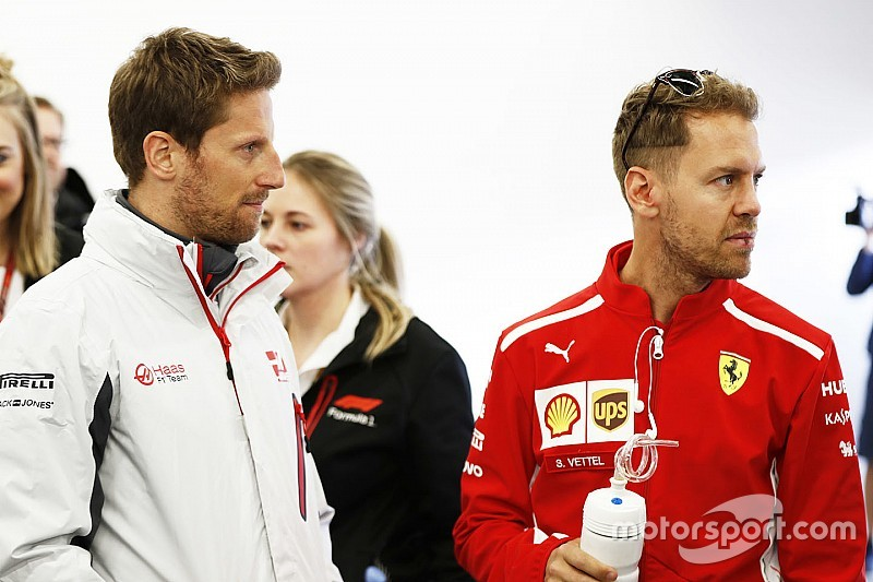 Grosjean niega haber fichado por Haas pensando en ir a Ferrari