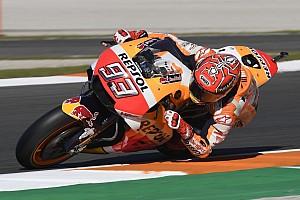 MotoGP Crónica de test Márquez también es el más rápido en la sesión de warm up