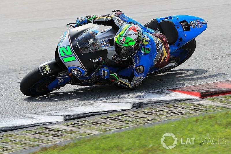 """Morbidelli: """"Fue muy fuerte cruzarme con Rossi y seguirle dos curvas"""""""