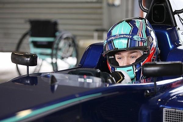 British F3 Actualités Billy Monger a repris le volant d'une monoplace