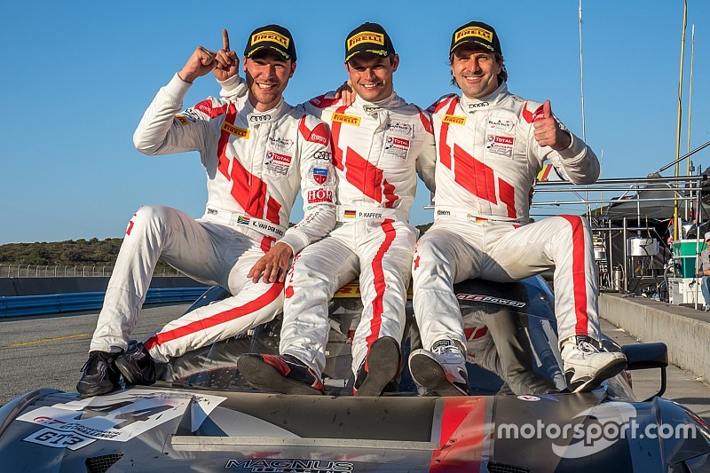 Audi gewinnt die ersten 8 Stunden von Laguna Seca