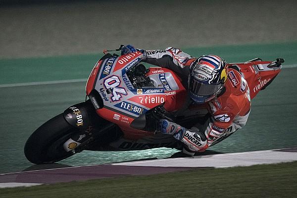 MotoGP Crónica de Carrera Dramático triunfo de Dovizioso en Qatar y Rossi en tercero