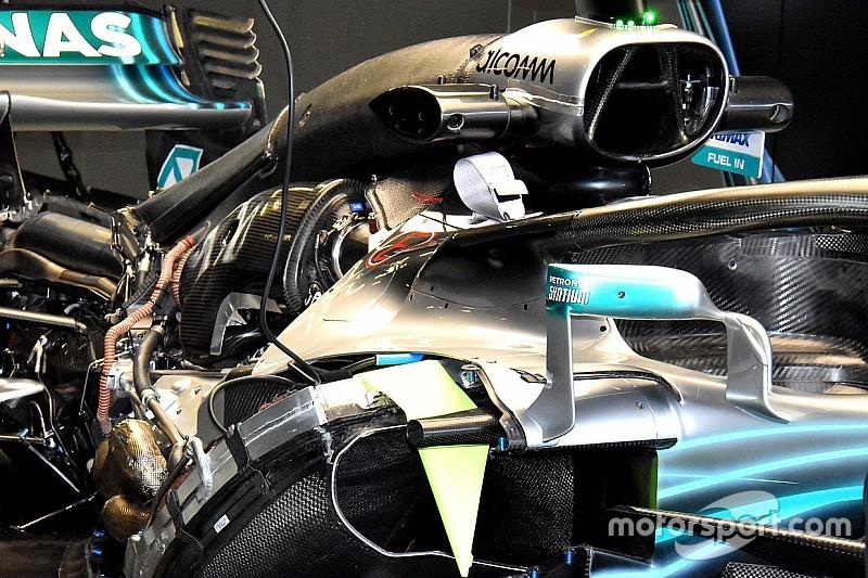 Двигун Ф1 Mercedes додав ще з десяток кінських сил