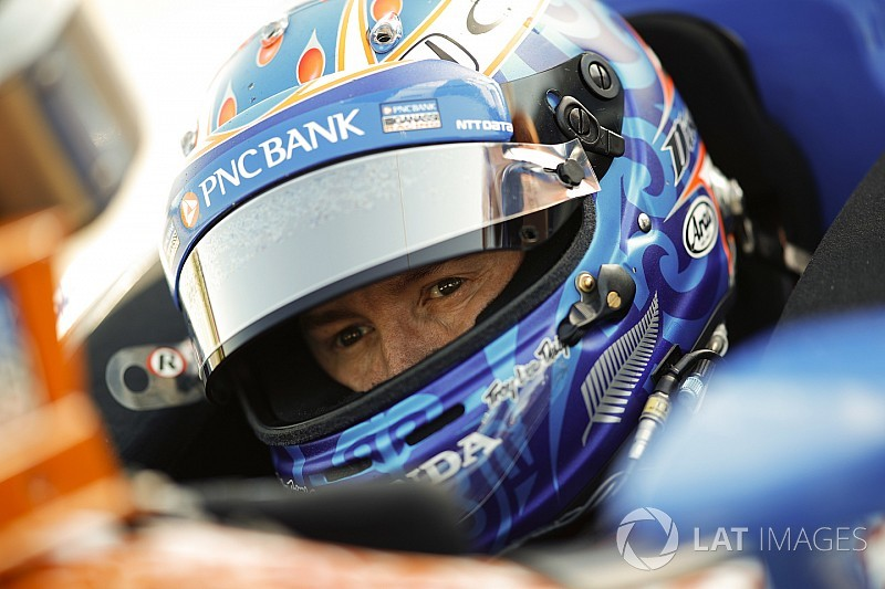 Dixon's 224mph lap tops Indy test session 2 at halfway point