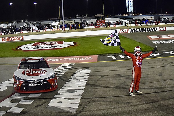 NASCAR XFINITY Race report Christopher Bell fends off teammate to win Xfinity race at Richmond