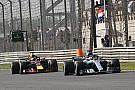 F1 汉密尔顿承认梅赛德斯不是当前最快的车队