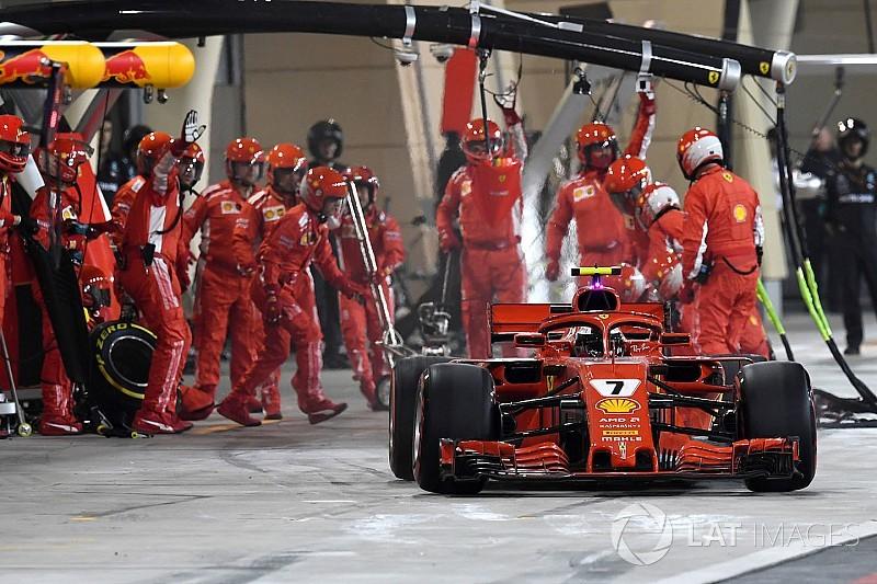Ferrari le dedica la victoria al mecánico lesionado en pits