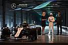 F1 Mercedes presentó oficialmente su W09