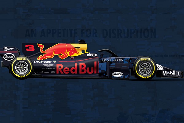 Слайдер: порівняння нової і торішньої машин Red Bull