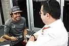 Boullier, tranquilo por la renovación de Alonso: