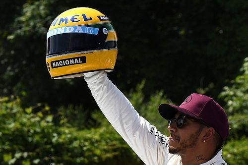 Ezért néz fel Hamilton annyira Sennára és más legendás sportolókra