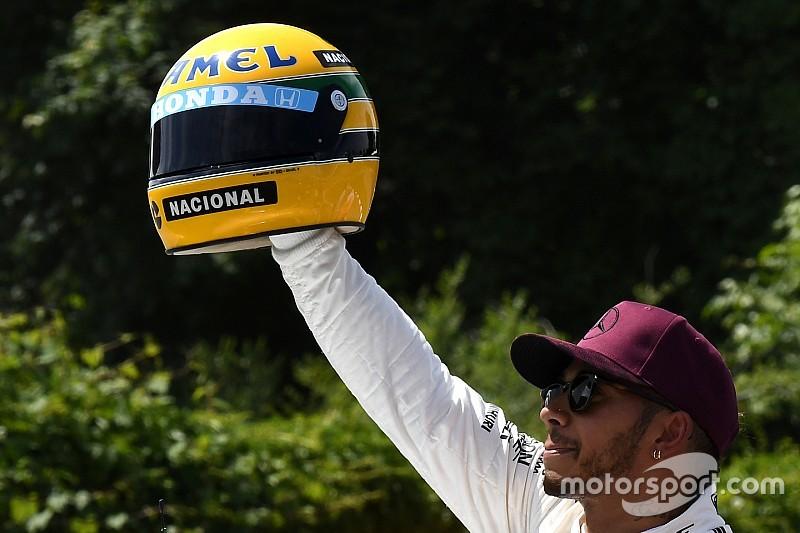 """Hamilton: """"Espero que me recuerden con una luz similar a la de Senna"""""""