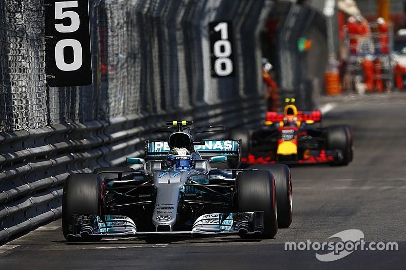 【F1】表彰台逃したボッタス「レッドブルはまだ僕たちの脅威ではない」
