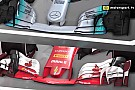 Video analysis: How the Mercedes and Ferrari F1 concepts differ