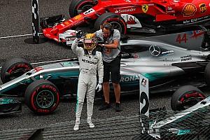 Hamilton y su primera pole en Suzuka: