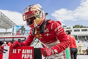 FIA F2 Nieuws Leclerc draagt F2-pole op aan overleden vader