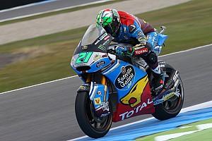 Moto2 Qualifying report Moto2 Belanda: Morbidelli pole, Baldassarri kecelakaan