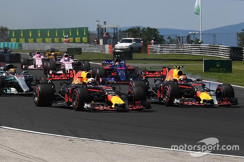 Red Bull se queja por la sanción de Verstappen en Hungría