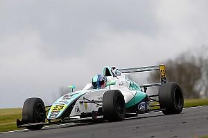 Formula 4 Breaking news F4 racer Monger suffers leg injuries in horror Donington crash