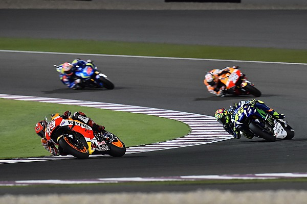 MotoGP MotoGP riders sceptical of racing in the rain at Qatar