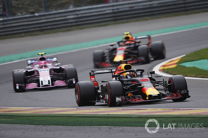 Nem jött be az időzítés a Red Bullnál – peches időmérő Belgiumban