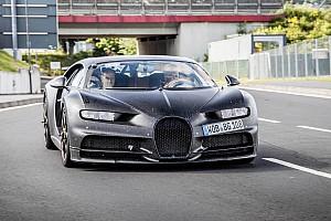 Pas de record de vitesse pour la Bugatti Chiron