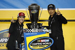 Shigeaki Hattori makes history with NASCAR Truck Series title