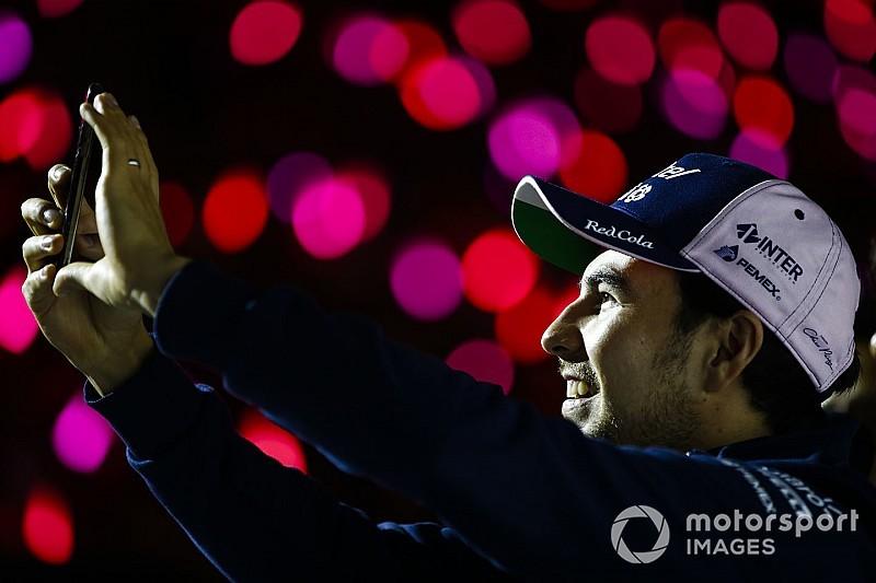 Pérez renueva con Force India para 2019