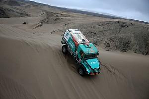 Villagra conserva el cuarto sitio en los camiones tras la octava etapa