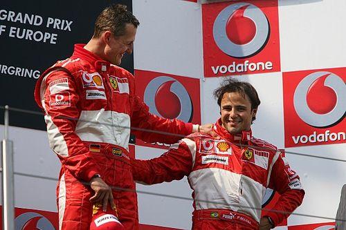 Massa: espero que Schumacher se recupere para ver correr a su hijo