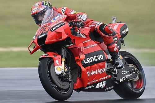 Misano MotoGP: Bagnaia takes pole in crash-strewn qualifying