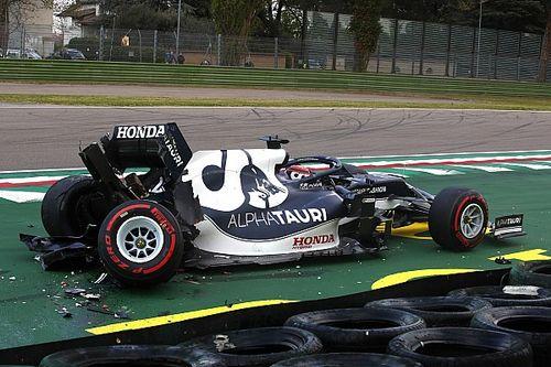 Tsunoda Akui Buat Kesalahan di Kualifikasi F1 GP Emilia Romagna