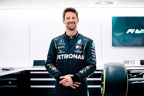 グロージャン、メルセデスでのF1テストが実現! 2019年のチャンピオンマシンをポールリカールでドライブ